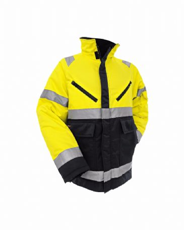 Blaklader 4828 High Vis Winter Jacket (Yellow/ Black)